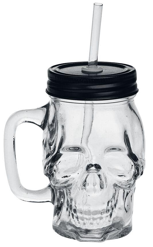 Image of Alchemy Gothic Skull Glass Bier-Glas Standard