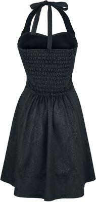 Neckolder-Kleid mit Schnürung Gothicana