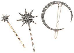Moon and Stars Hair Jewelry