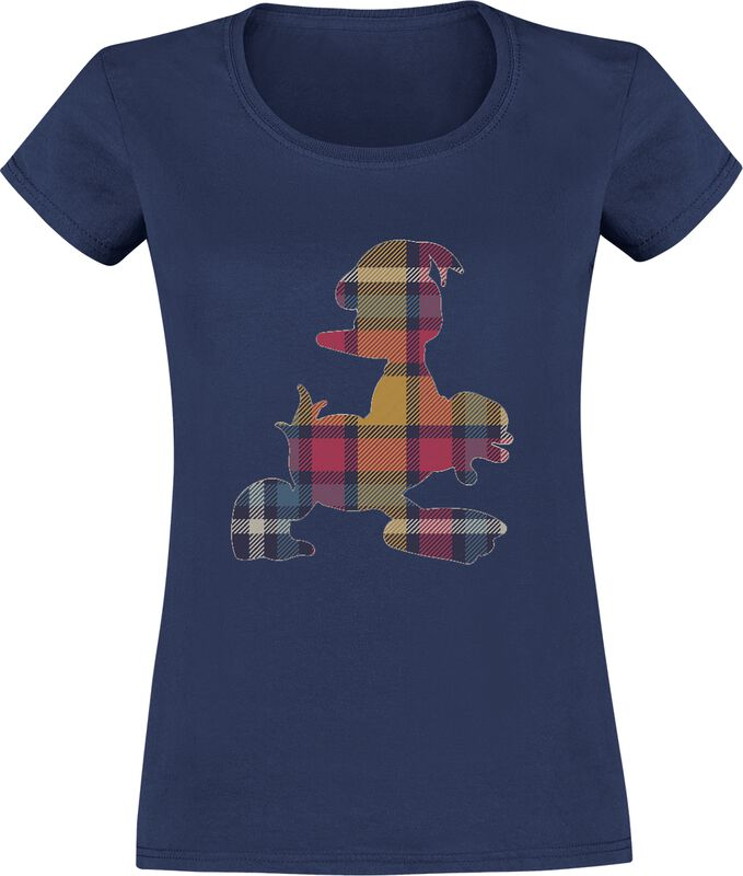 Donald Duck Donald in Plaid