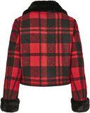 Ladies Plaid Jacket