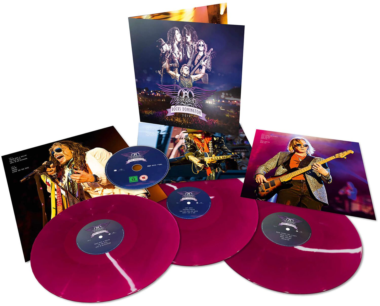 Image of Aerosmith Rocks Donington 2014 DVD & 3-LP farbig