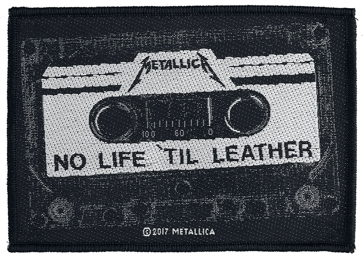 Metallica  No Life 'Til Leather  Patch  multicolor