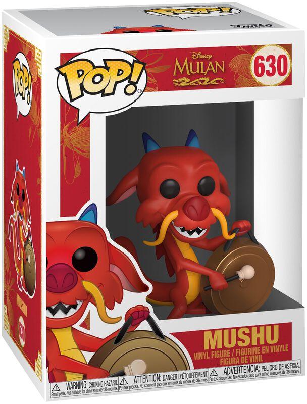 Mushu with Gong Vinyl Figur 630