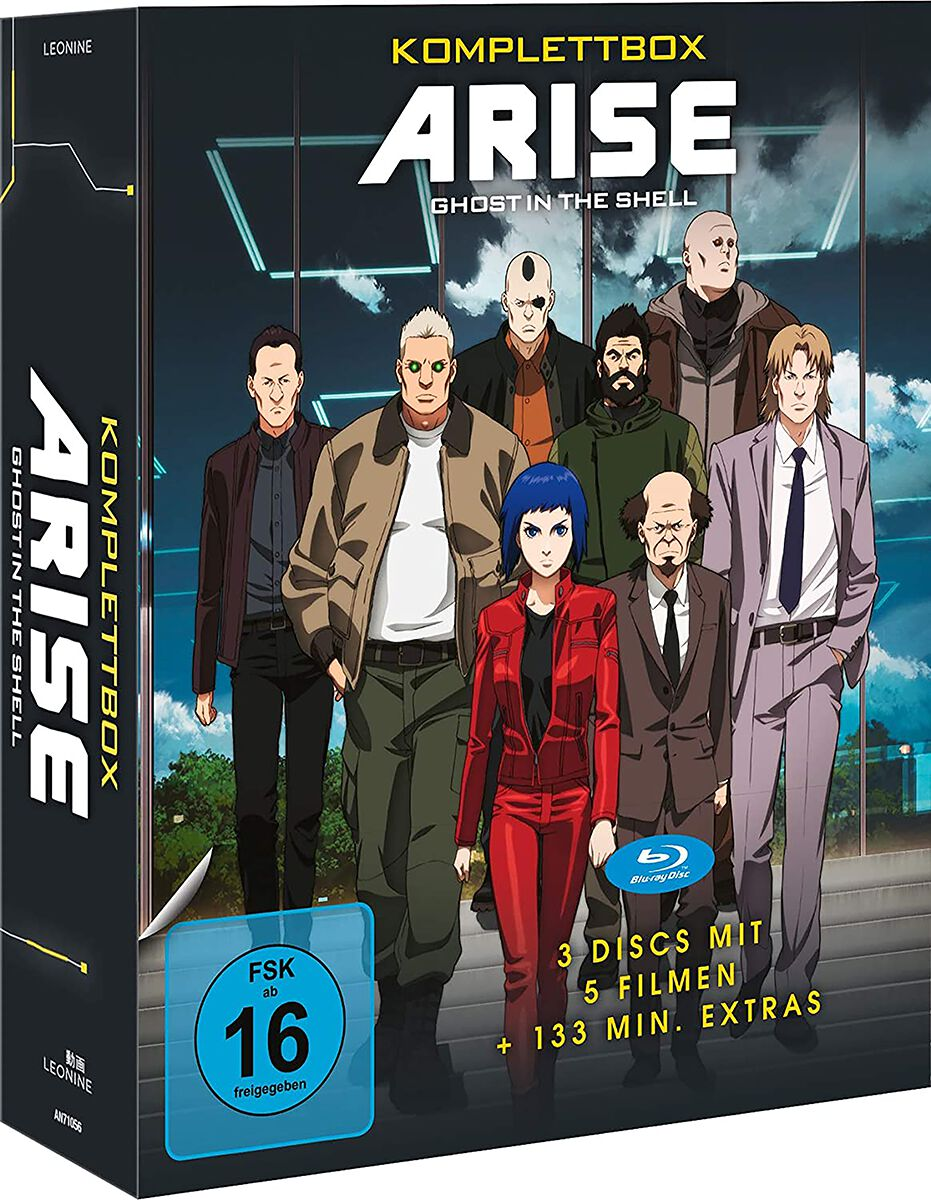 Image of Ghost In The Shell Arise - Komplettbox 3-Blu-ray Standard