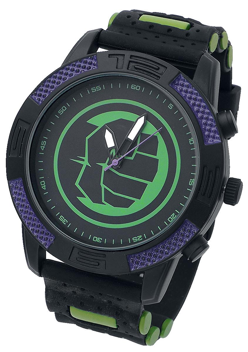 Hulk - Faust - Armbanduhren - schwarz