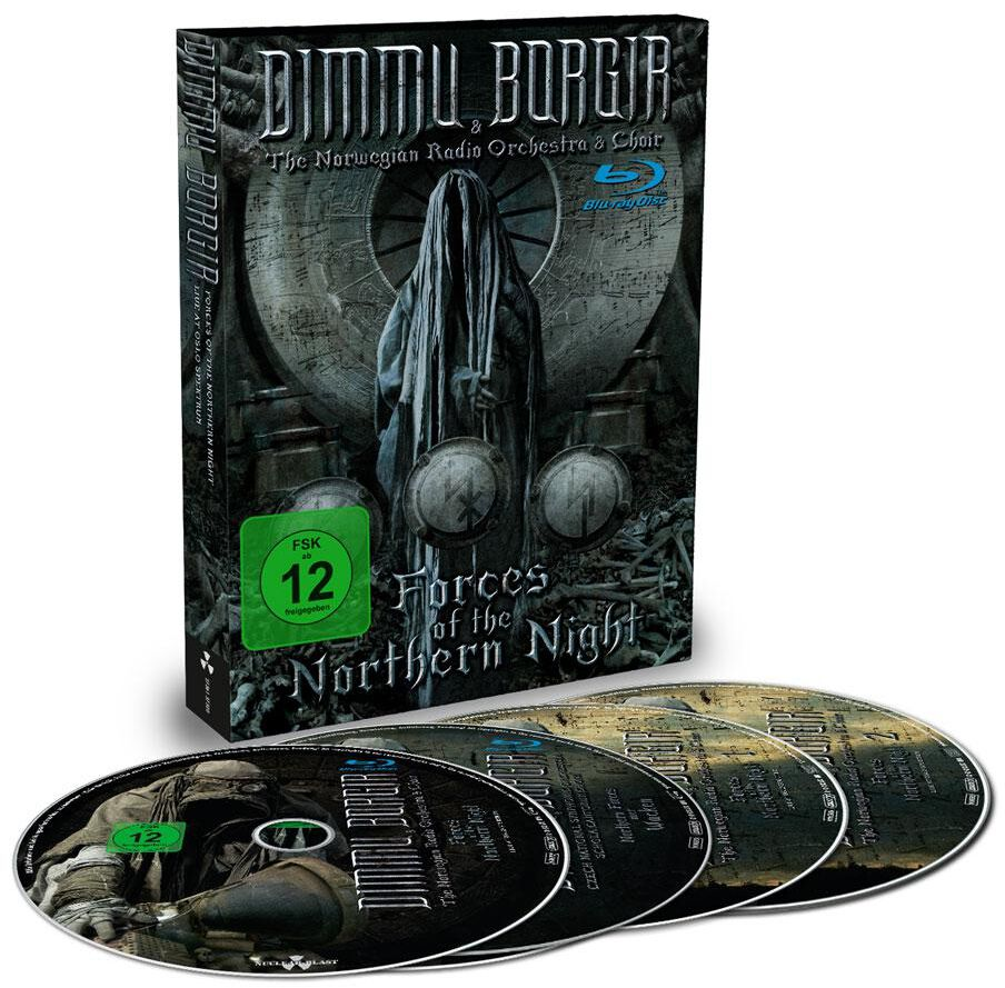 Image of Dimmu Borgir Forces of the northern night 2-Blu-ray & 2-CD Standard
