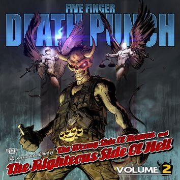 Five Finger Death Punch The wrong side of heaven and the righteous side of hell volume 2  CD  Standard
