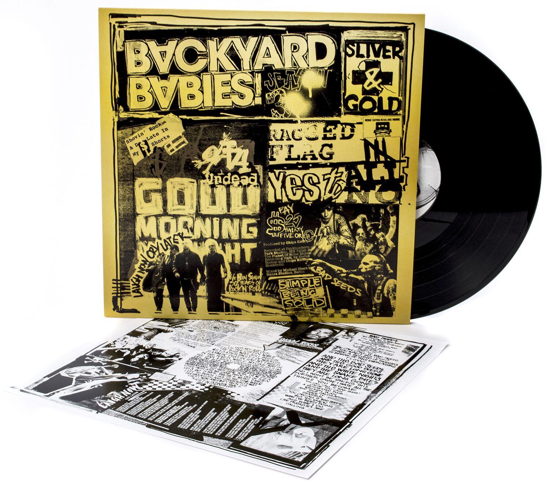 Image of Backyard Babies Sliver and gold LP Standard