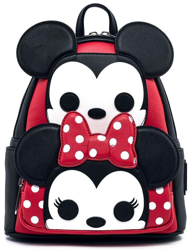 Micky Maus - Pop! by Loungefly - Micky und Minnie Cosplay - Mini-Rucksack - schwarz|rot|weiß