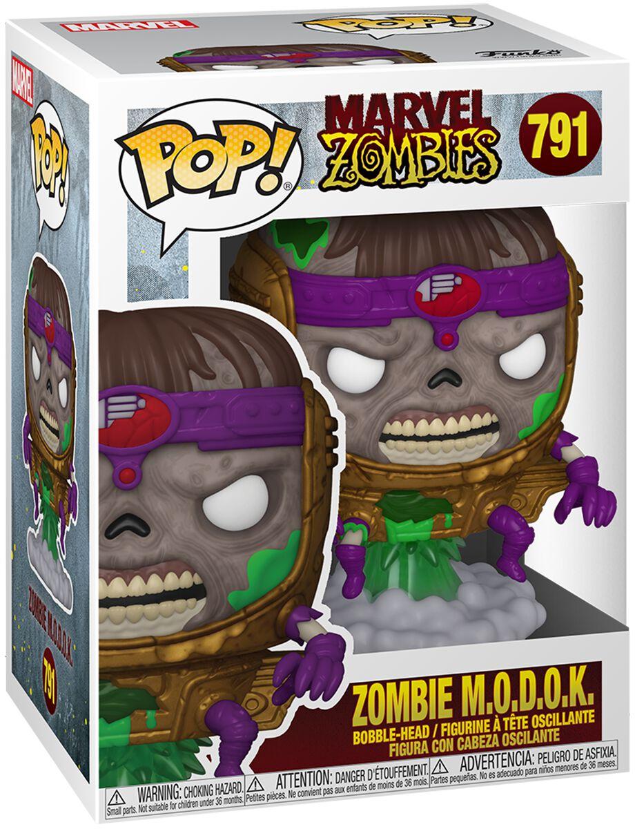 Marvel Zombies - Zombie Modok Vinyl Figur 791 Funko Pop! multicolor 54559
