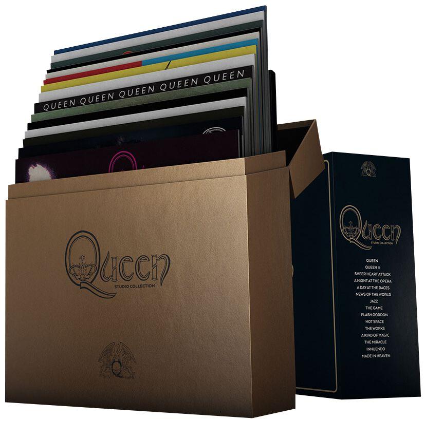 Image of Queen Complete StudioAlbum LP-Collection 18-LP Standard