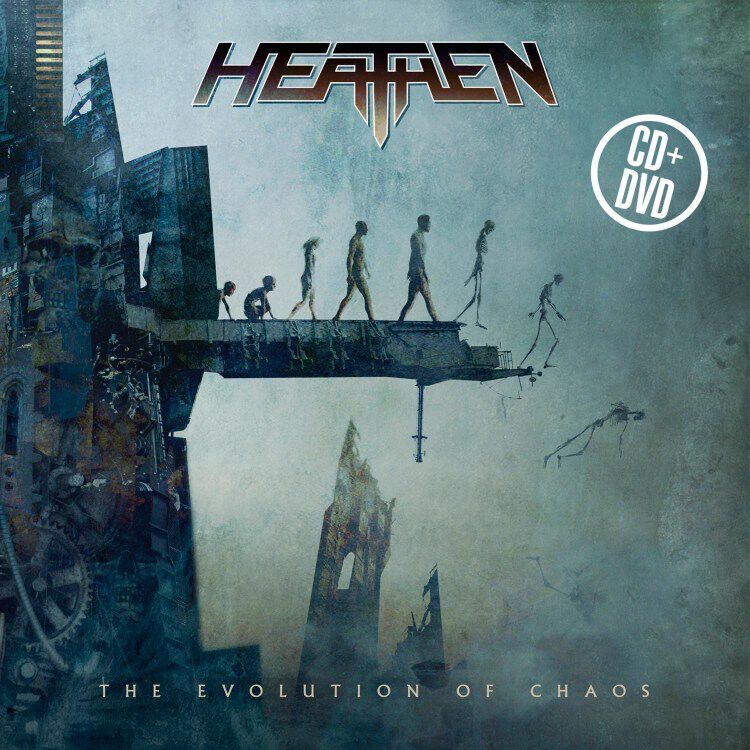 Image of Heathen The evolution of chaos - 10th year anniversary CD & DVD Standard