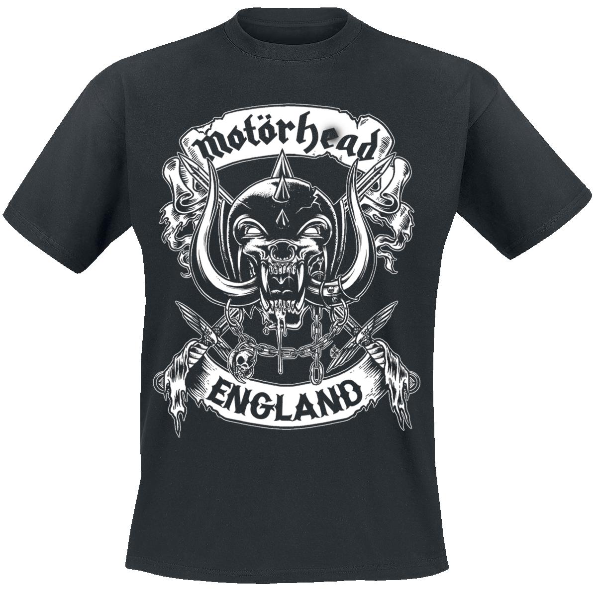 Motörhead - Crossed Sword England - T-Shirt - black image