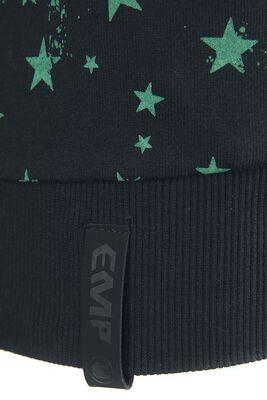 Kapuzenpullover mit Sternen-Print
