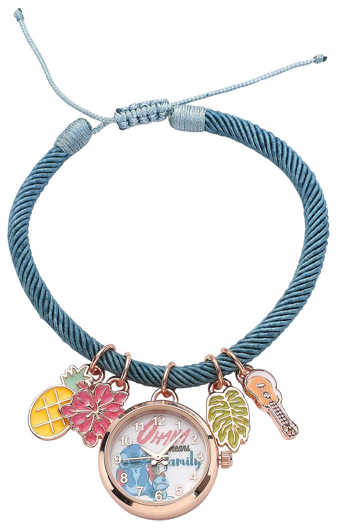 Lilo and Stitch - Stitch mit Brille - Armbanduhren - multicolor