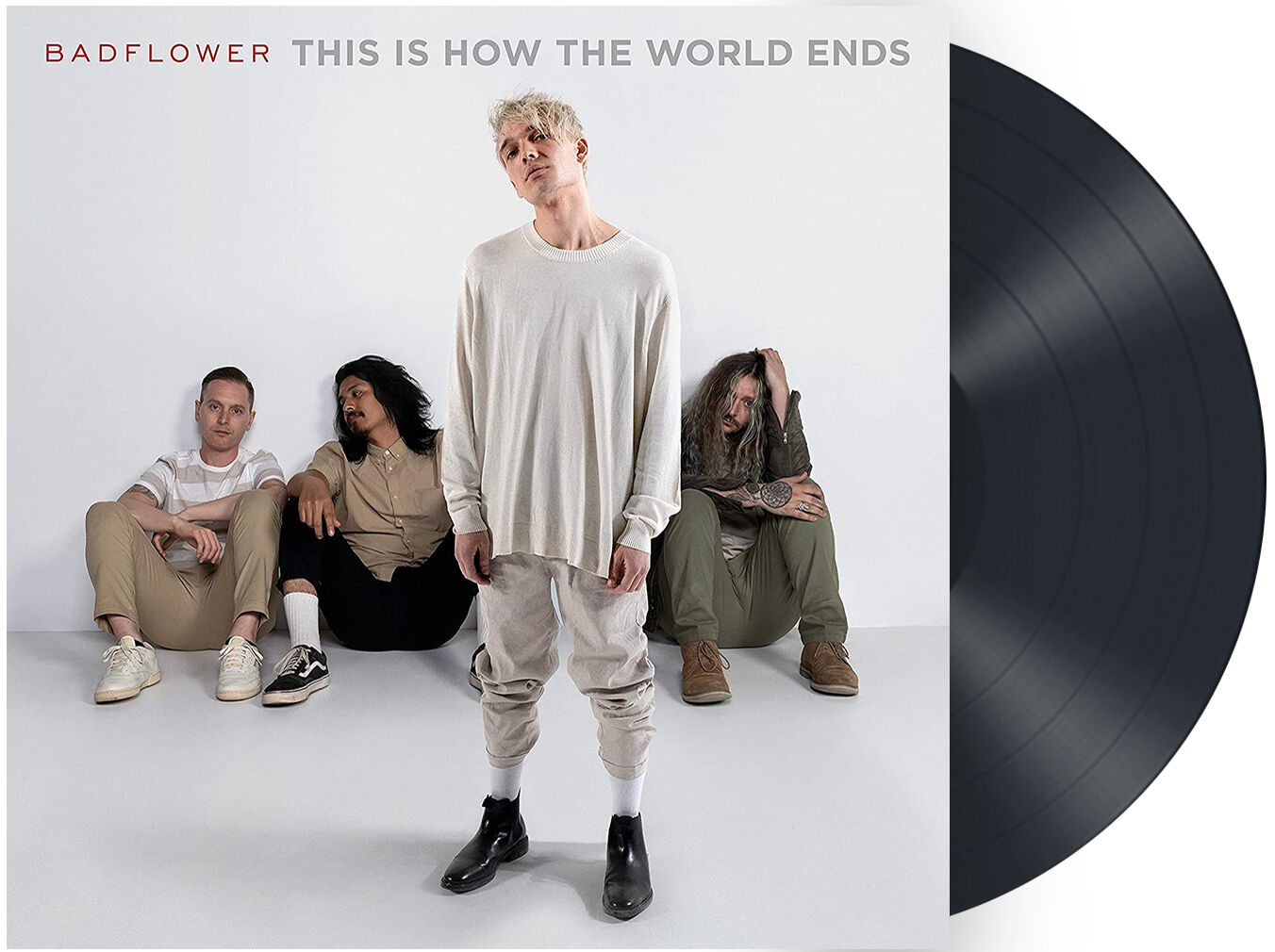 Image of Badflower This is how the world ends 2-LP Standard