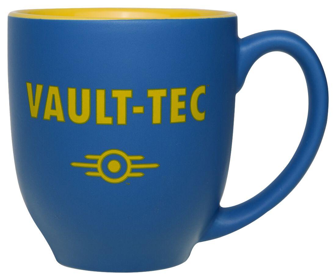 Fallout Vault-Tec Tasse blau gelb GE3554