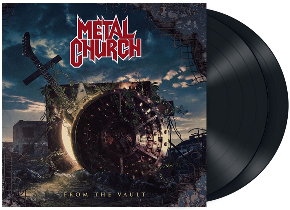 Metal Church From the vault LP multicolor 0840588132577