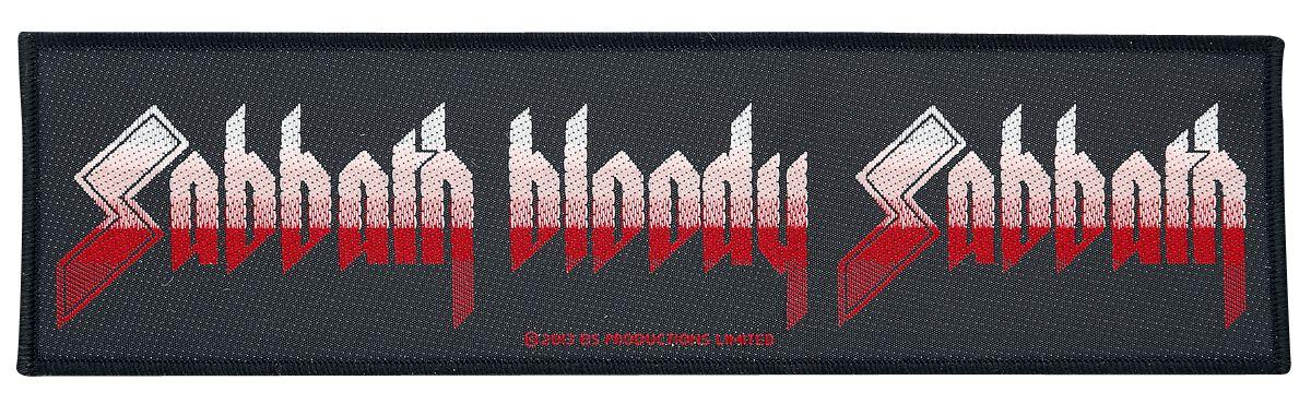 Black Sabbath  Sabbath bloody sabbath  Patch  schwarz/weiß/rot