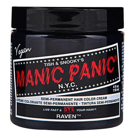 Manic Panic Raven Black - Classic  Haar-Farben  schwarz