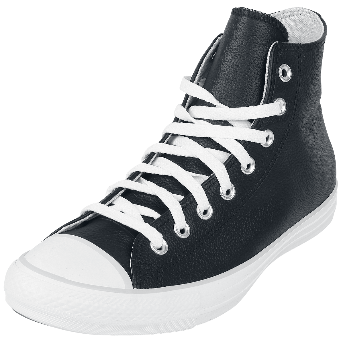 Converse - Chuck Taylor All Star Seasonal Leather Hi - Sneakers - black image