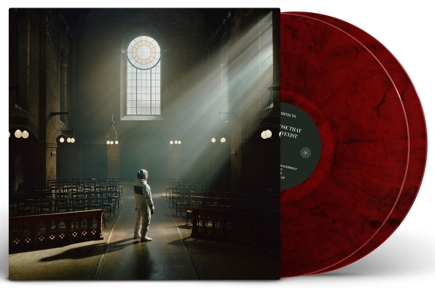 Image of Architects For those that wish to exist 2-LP marmoriert