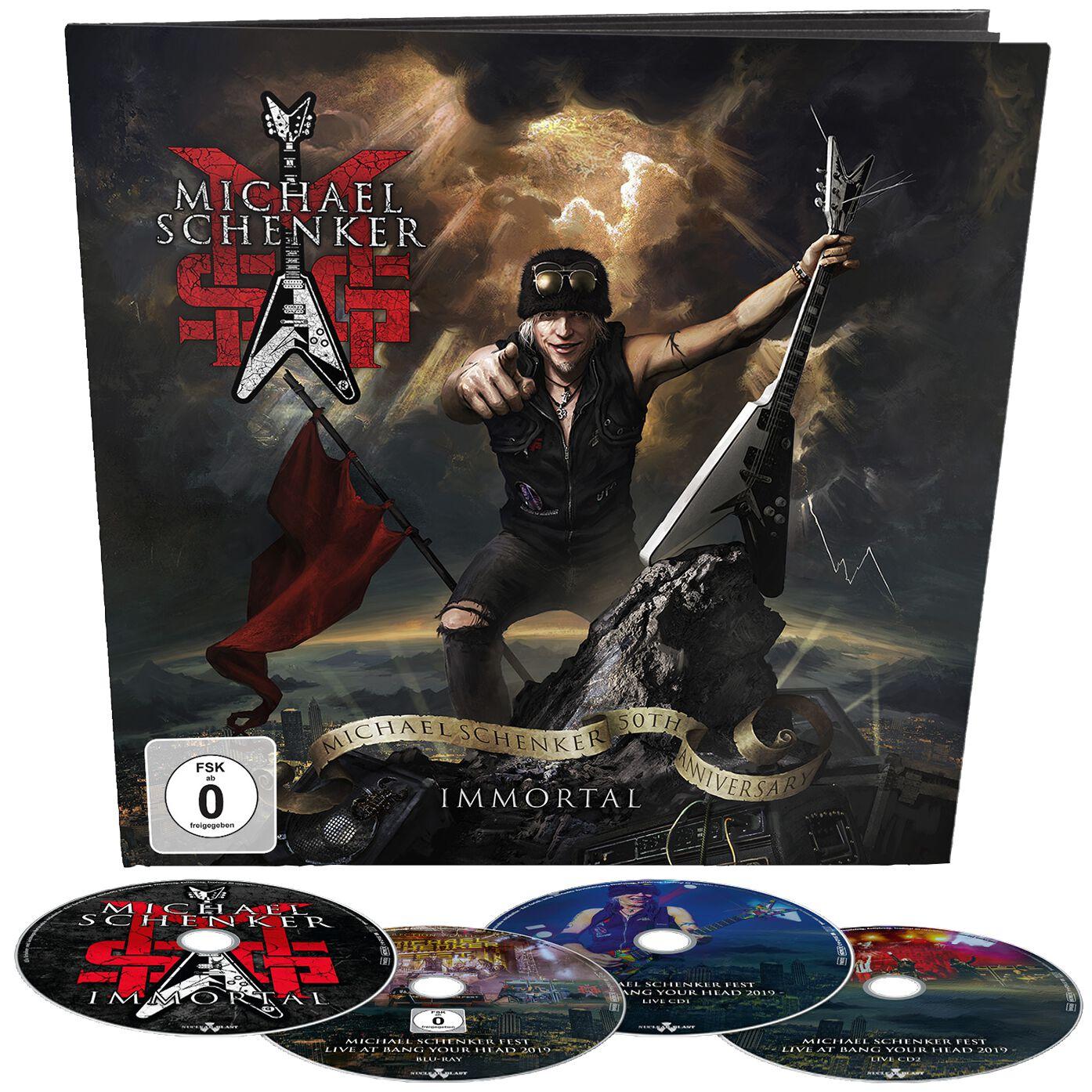 Image of Michael Schenker Group Immortal 3-CD & Blu-ray Standard
