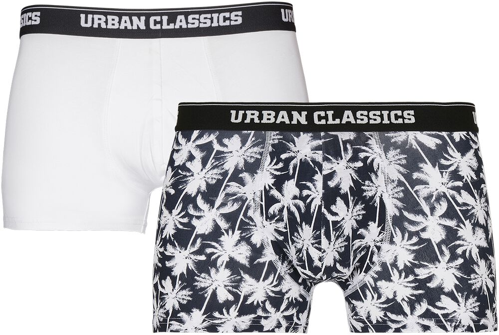 Men Boxer Shorts Double-Pack