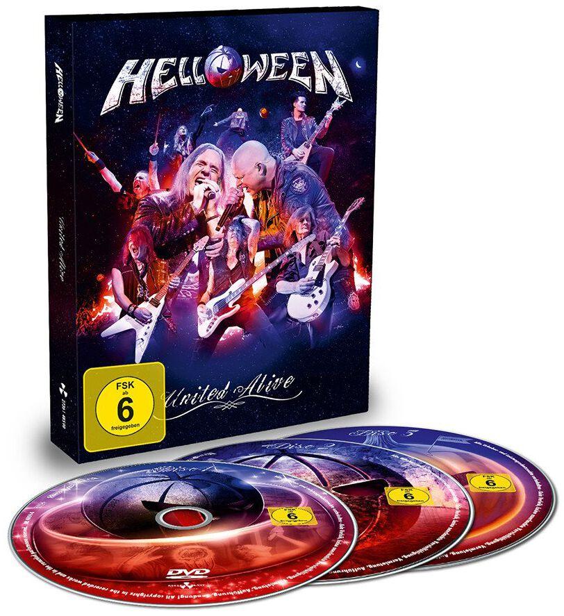Image of Helloween United alive 3-DVD Standard