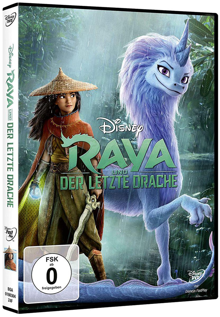 Raya Und Der Letzte Drache Raya und der letzte Drache DVD multicolor BGA0180304