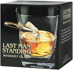 Last Man Standing Whiskey Glas