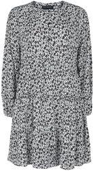 Ditsy Print Button Up Skater Dress