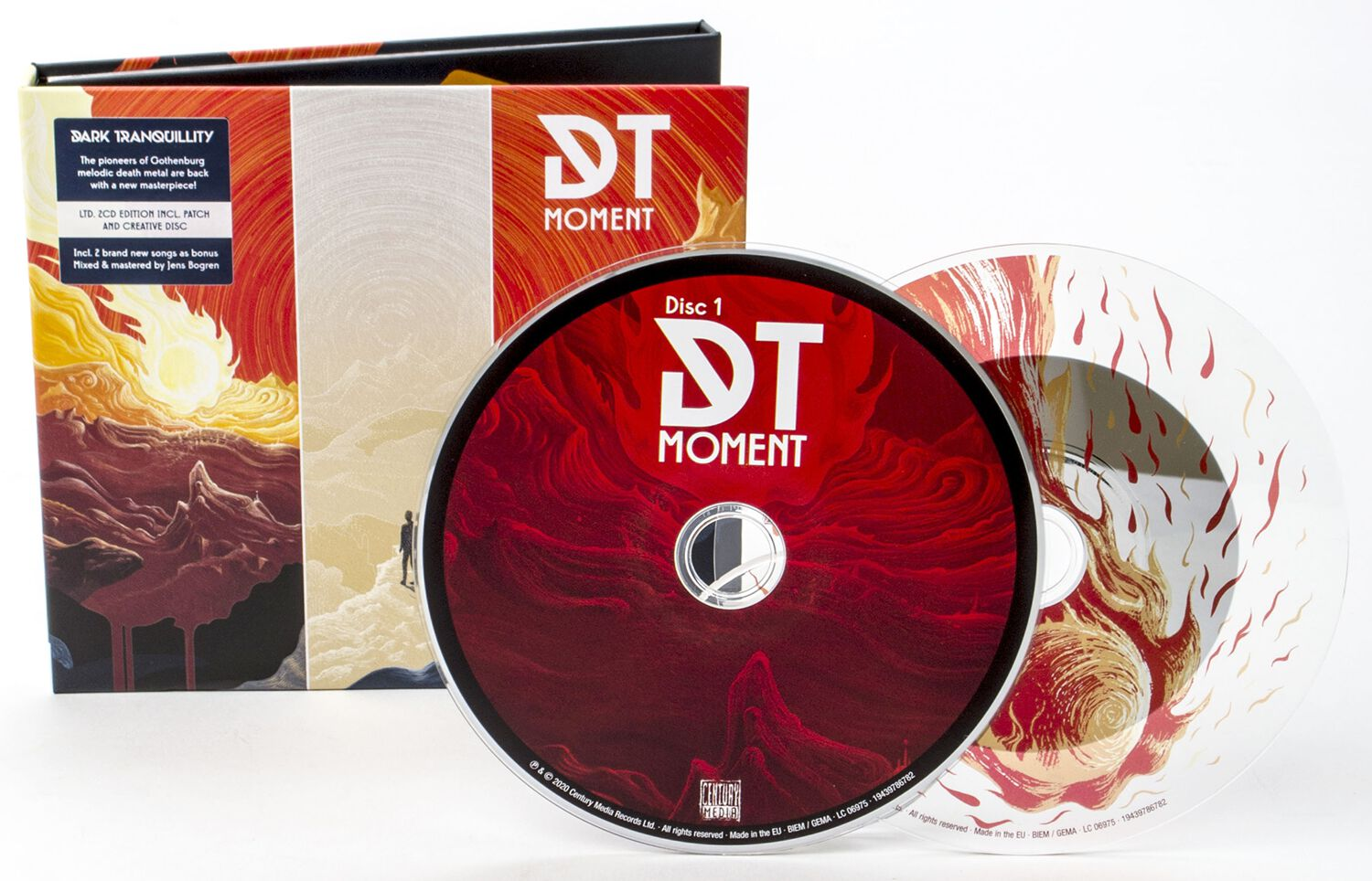 Image of Dark Tranquillity Moment 2-CD & Patch Standard