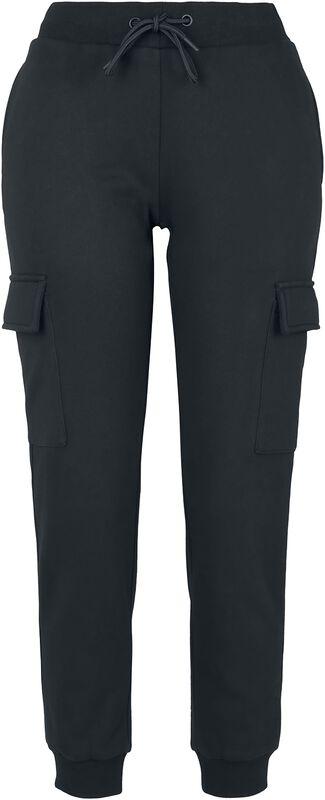 Ladies Cargo Sweat Pants