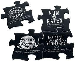 Untersetzer Set - Gothic Cocktail