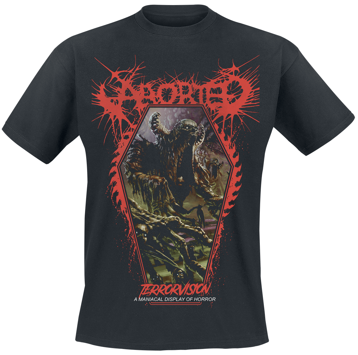 Image of Aborted TerrorVision CD & T-Shirt Standard