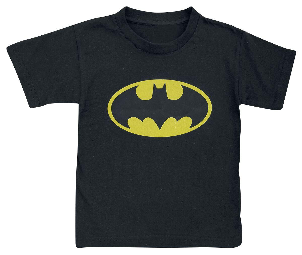 Image of Batman Distressed Logo Maglia bimbo/a nero