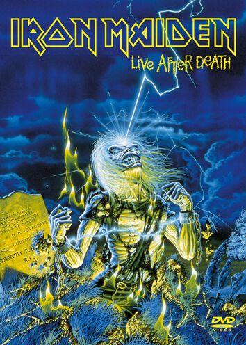 Iron Maiden Live after death  DVD  Standard