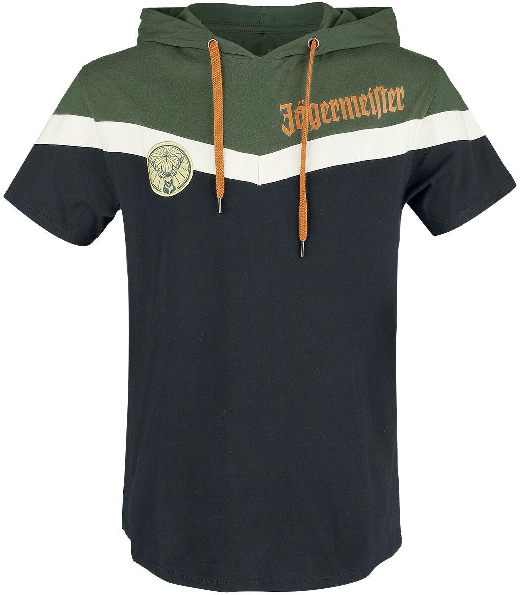 Image of Jägermeister - Gold Logo - T-Shirt - Uomo - multicolore