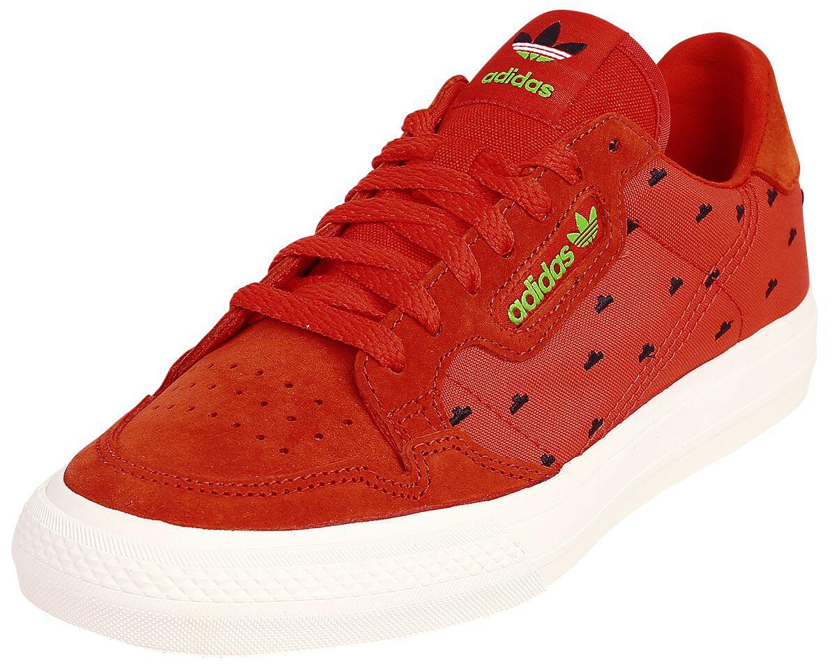 Sneakers für Frauen - Adidas Continental Vulc Arizona Ice Tea Watermelon Sneaker rot  - Onlineshop EMP