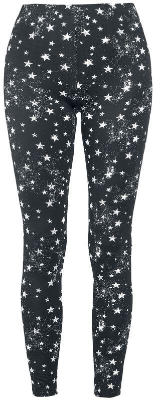 Leggings mit Sternen Alloverprint