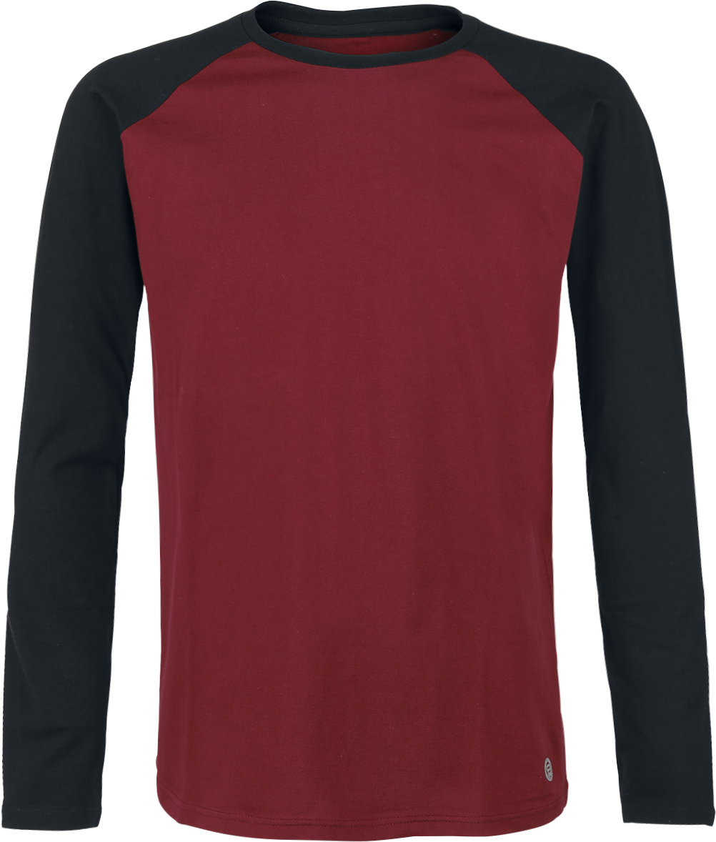 RED by EMP - Passion Rules The Game - Longsleeve - burgundy image