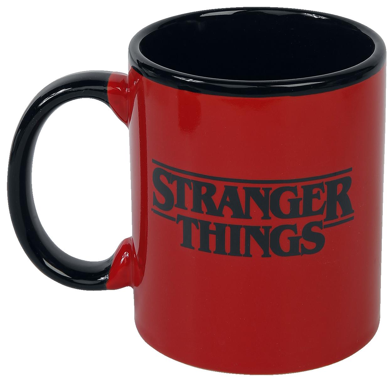 Image of Stranger Things The World Is Turning Upside Down - Geschenk-Set Fanpaket Mehrfarbig