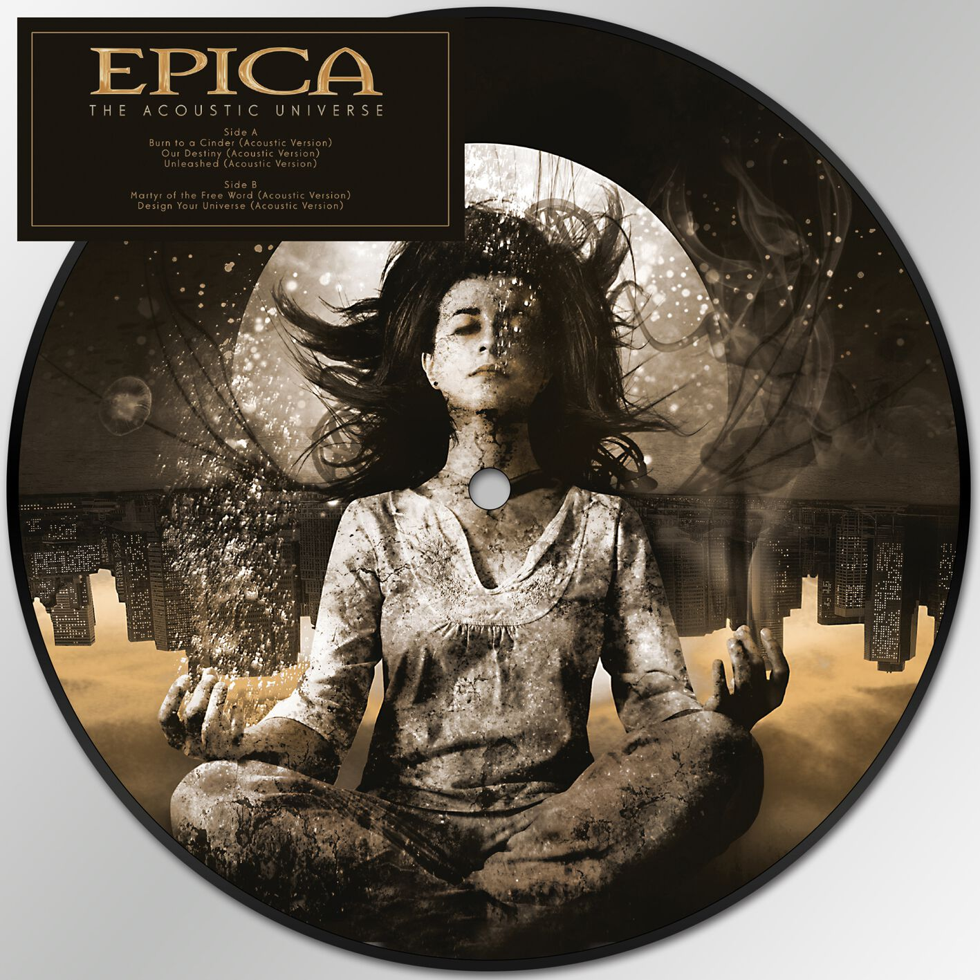 Image of Epica The acoustic universe EP Standard