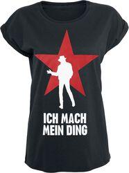 Ich mach mein Ding - Stern Girl Shirt