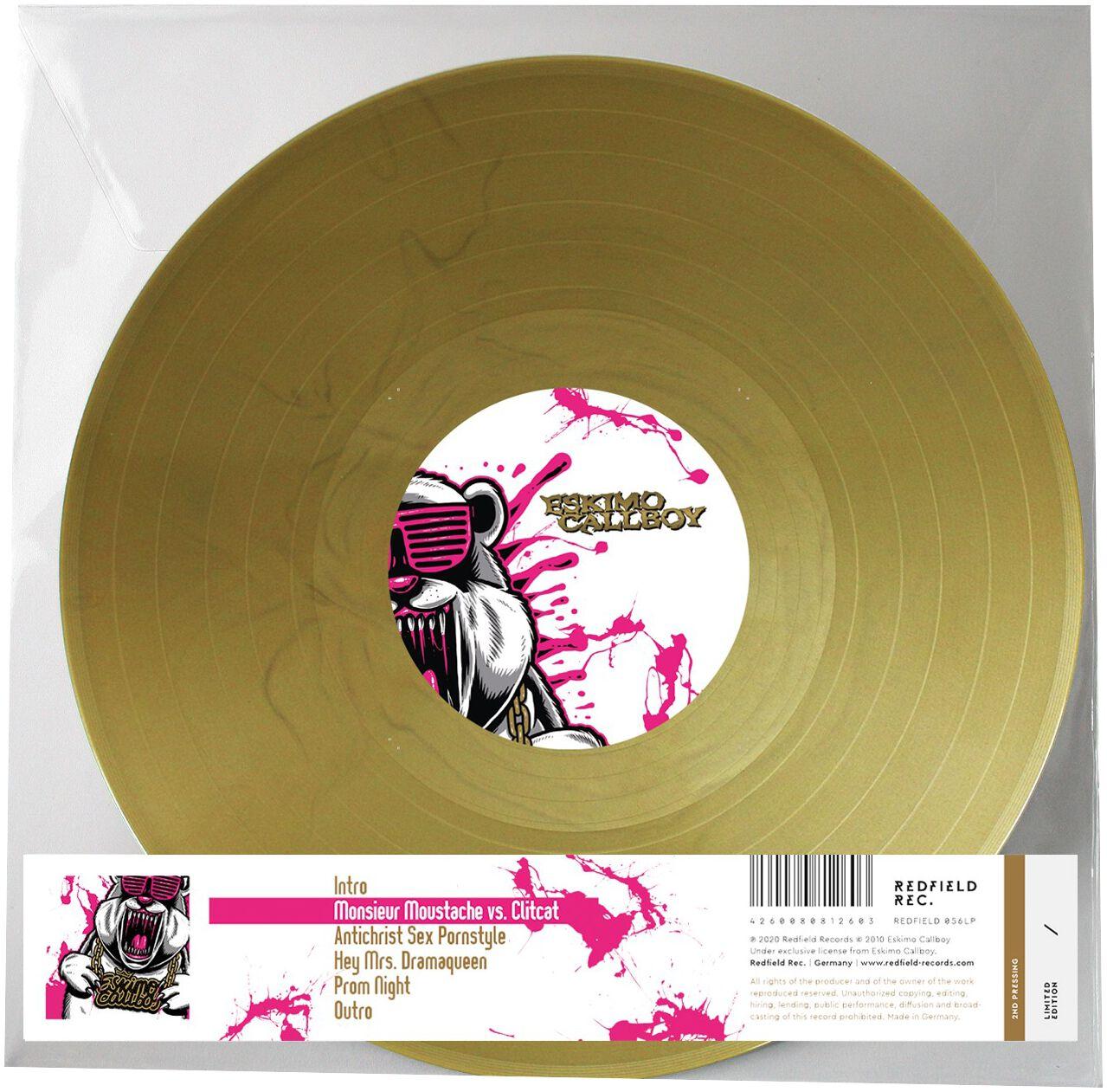 Eskimo Callboy Eskimo Callboy Single goldfarben 8081260