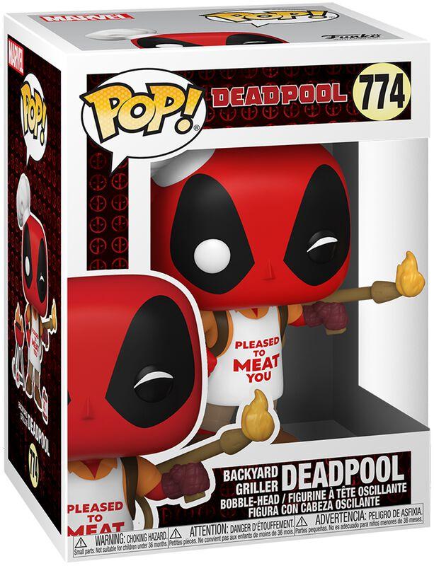 30th Anniversary - Deadpool Backyard Griller Vinyl Figur 774