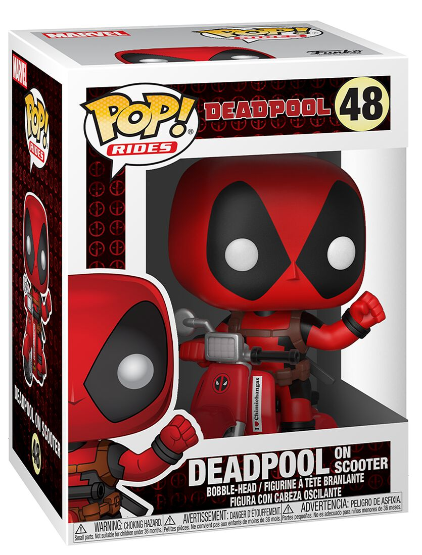 Deadpool  Deadpool on Scooter Vinyl Figur 48  Sammelfigur  Standard