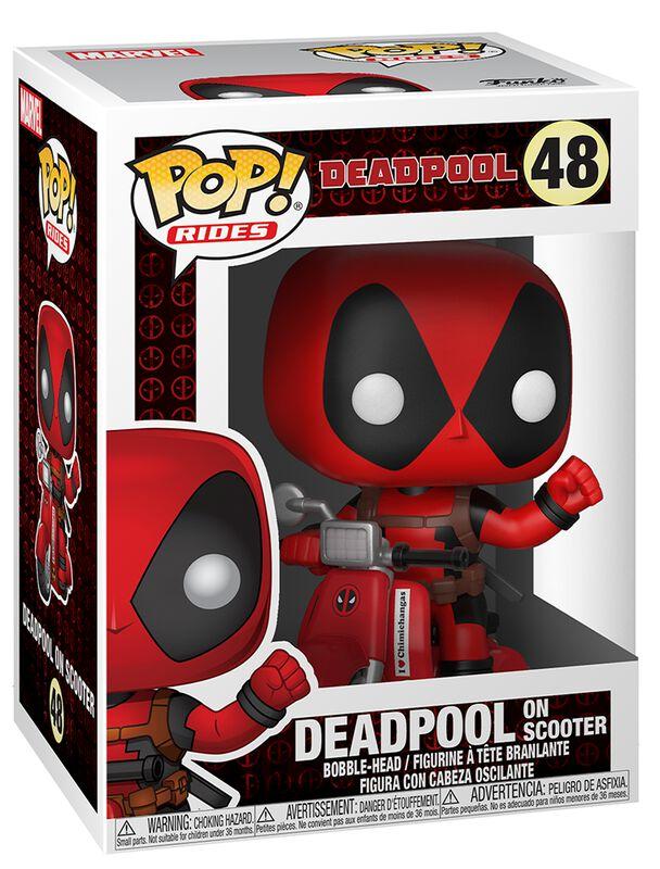 Deadpool on Scooter Vinyl Figur 48